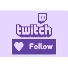 ✅👤 100 Followers on Your Twitch channel ⭐👍🏻