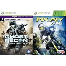 Ghost Recon FS , MX vs ATV Alive Xbox 360