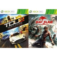Dead Island , Test Drive Unlimited 2 Xbox 360