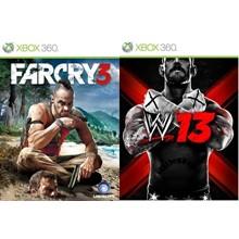 Far Cry 3 , WWE 2013 Xbox 360