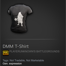 DMM t-shirt for PUBG (CD-key) Steam code