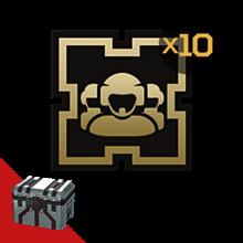 Armored Warfare: Golden badge (crew) 10pcs