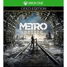 Metro Exodus Gold  key XBOX ONE & Series X S 🔑