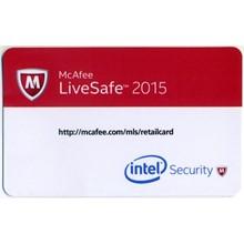 McAfee LiveSafe 1 User 1 Year All Languages REG FREE