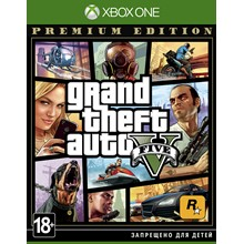 Grand Theft Auto V Premium Edit. XBOX ONE GTA V key 🔑✅