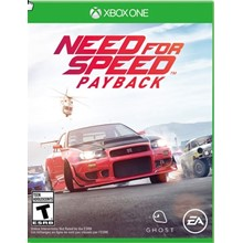 Need for Speed Payback Xbox One CODE
