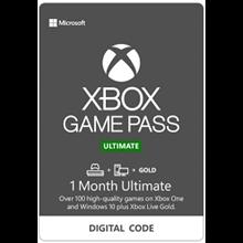 Xbox Game Pass Ultimate 1 month ✅ (RENEW SUB/RU KEY)