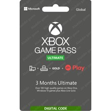XBOX GAME PASS ULTIMATE 3 MONTHS (RU) ✅(EXTENSION)