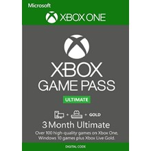 🔥 XBOX GAME PASS ULTIMATE 3 MONTH (RENEWAL)