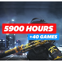 5900 HOURS CS:GO ✔️ Added +40 Games! ❤️