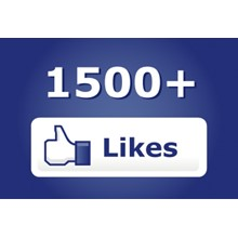 ✅ ❤️ 1500 Likes FACEBOOK [LOW PRICE] [Best] 1.5K 🔥🚀