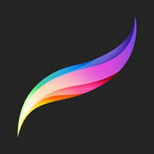 Procreate on ios, iPad, AppStore