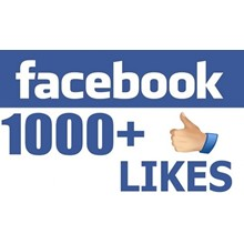 ✅ ❤️ 1000 Likes per page FACEBOOK for Business [1K]