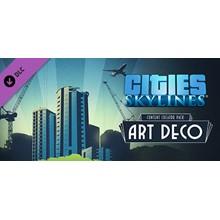 CITIES: SKYLINES - ART DECO ✅STEAM + BONUS
