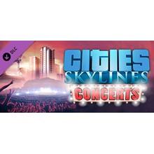 CITIES: SKYLINES -  CONCERTS  ✅STEAM + BONUS