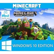Minecraft: Windows 10 Edition. Licensed Key + GIFT