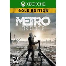 ❤️🎮 Metro Exodus GOLD Edition Xbox One & Series X|S🥇✅