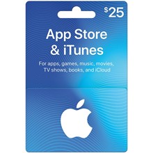 iTunes Gift Card $25 USA