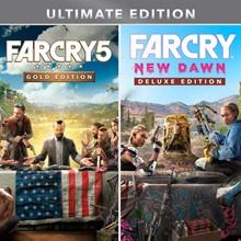 ✅ Far Cry 5 GOLD + Far Cry New Dawn DELUXE XBOX Key 🔑