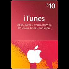 iTunes Gift Card $10 USA 🎵 🎮