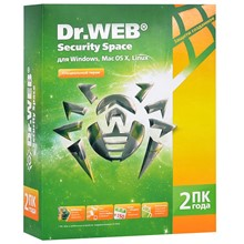 Dr.WEB Security Space 1 PC 2 years + mobile antivirus