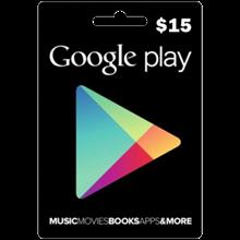 Google Play Gift $15