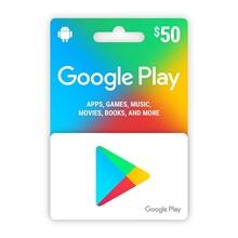 Google Play Gift $50