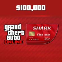 GTA5 - Red Shark Cash Card 100,000 dollars (PSN) UK