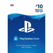 PlayStation Network Wallet Top Up £10 UK PSN -DISCOUNTS