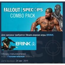 BRINK: Fallout®/SpecOps Combo Pack (Steam key) - RU
