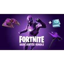 (FORTNITE) - Dark Vertex Skin + 500 V-Bucks Xbox One