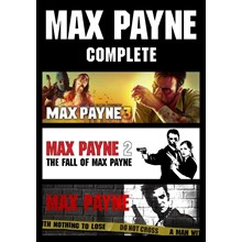 😎 Max Payne 3/2/1 Compilation (STEAM) GLOBAL