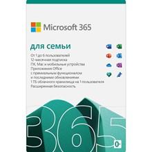 MICROSOFT OFFICE 365 FOR FAMILY 1 year RUS/CIS/GEORGIA
