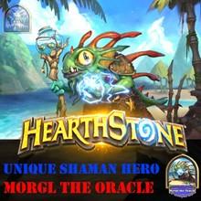ORACLE MORGL - Hearthstone - Shaman Portrait