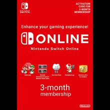Nintendo Switch Online Membership 3 Months EU +DISCOUNS