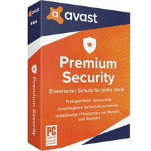 AVAST PREMIER SECURITY 1 YEAR  FOR YEAR
