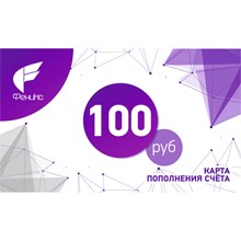PHOENIX RECHARGE CARD — 100 RUB