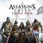 ASSASSIN´S CREED Triple Pack | XBOX One | KEY