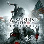 ASSASSIN´S CREED III: REMASTERED   XBOX One   KEY