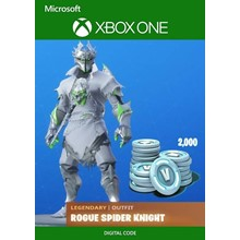 ⭐ ROGUE SPIDER KNIGHT ⭐ 2000 VBUCKS ⭐ XBOX FORTNITE
