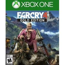 ✅ FAR CRY 4 GOLD EDITION XBOX ONE Digital Key 🔑