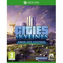 ✅ Cities: Skylines - Xbox One Edition XBOX ONE Key 🔑