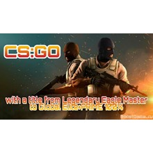 CS:GO [PRIME] 🔥 with a title from LEM to Global ✅