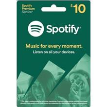 SPOTIFY Gift Card 10$ (USA) 🎧