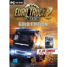 EURO TRUCK SIMULATOR 2 GOLD (STEAM) INSTANTLY + GIFT