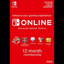 Nintendo Switch Online Membership 12 Months EU +DISCOUN