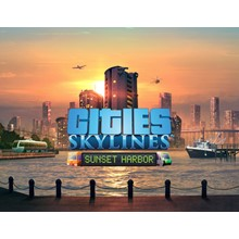 CITIES SKYLINES: SUNSET HARBOR (STEAM) INSTNATLY