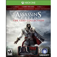✅ Assassin's Creed The Ezio Collection XBOX ONE Key 🔑