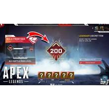 APEX LEGENDS 200 LVL WARRANTY NEW SEASON