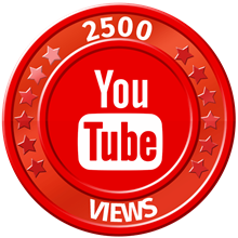 ✅ 2500 Views YOUTUBE ▶️🚀 [The Best] [2.5K] ⭐